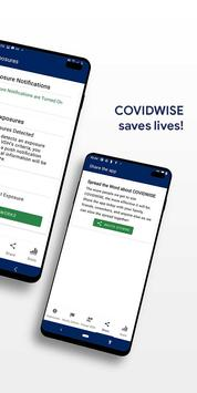 COVIDWISE screenshot 2