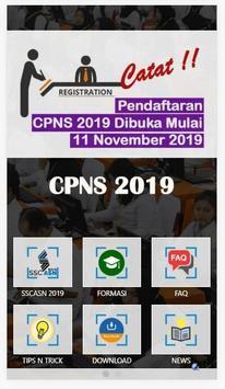 Info CPNS 2019 poster