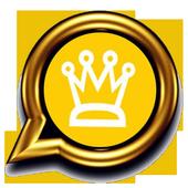 Gold Phone Royal Statuses icon