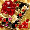 Gold rose live wallpaper アイコン