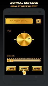 Gold Speaker Booster screenshot 3