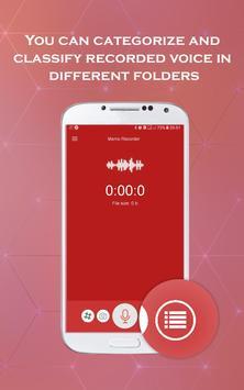 Pro Memo Recorder - Voice Recorder Pro screenshot 3