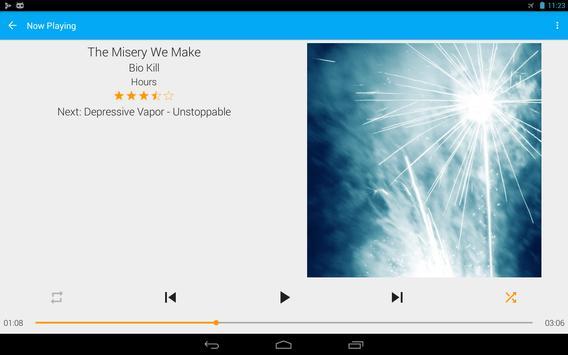 GoneMAD Music Player captura de pantalla 7