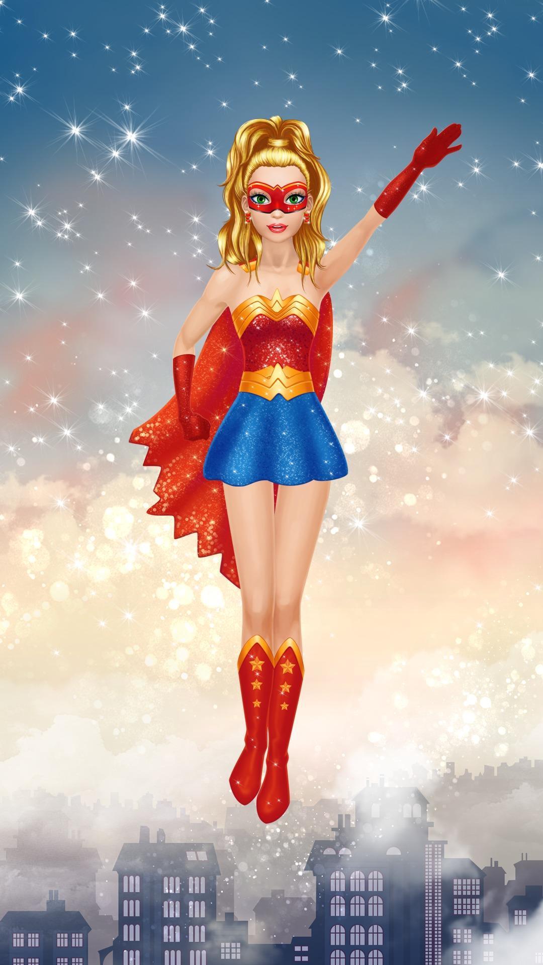 Супергерой девочка картинки