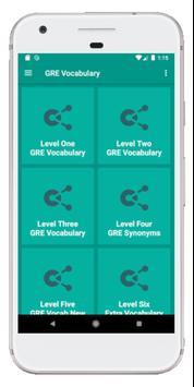 GRE Vocabulary screenshot 7