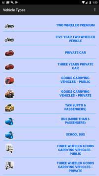 Motor Insurance Calculator screenshot 2
