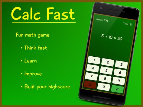 Calc Fast poster