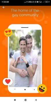 Gay chat & Gay Dating screenshot 1