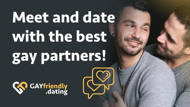 Gay guys chat & dating app - GayFriendly.dating poster