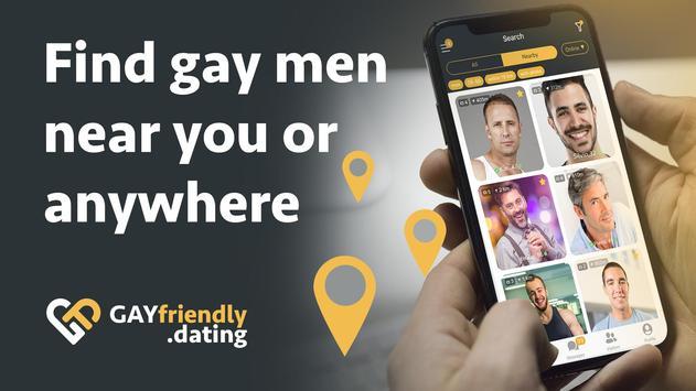Gay guys chat & dating app - GayFriendly.dating screenshot 1