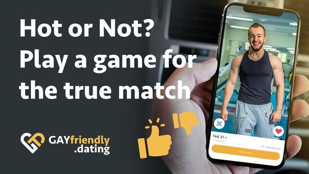 Gay guys chat & dating app - GayFriendly.dating screenshot 3