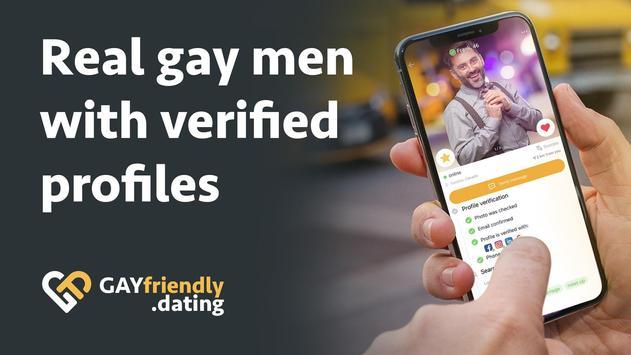 Gay guys chat & dating app - GayFriendly.dating screenshot 4