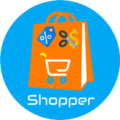 E-Shopper - All In One Online Shopping App icon