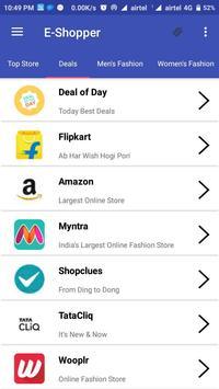 E-Shopper - All In One Online Shopping App poster