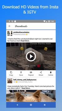 إيف التوقف - صورة تنزيل الفيديو لإينستاجرام الملصق