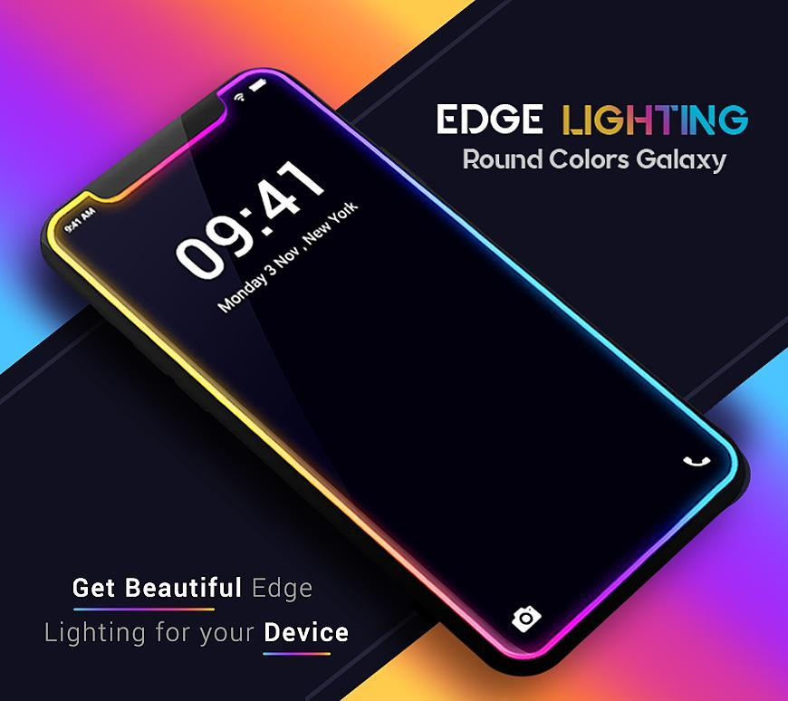 Edge Lighting Colors Round Colors Galaxy S20 Ultra For Android Apk Download