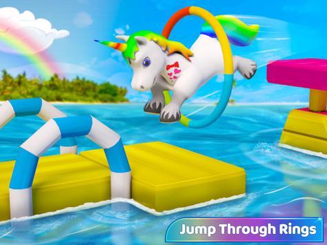 طفل يونيكورن الحياة البرية: المهر الحصان ألعاب تصوير الشاشة 6