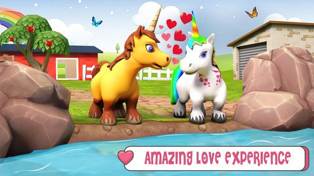 طفل يونيكورن الحياة البرية: المهر الحصان ألعاب تصوير الشاشة 3