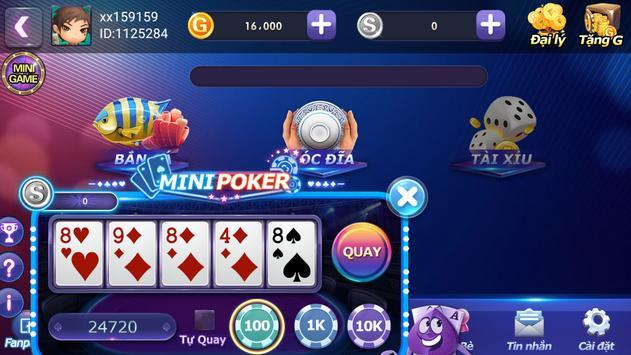 Game danh bai doi thuong Online 2018 - Ban ca screenshot 1