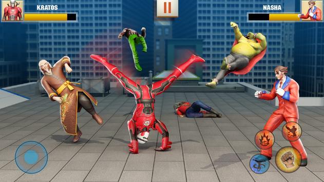 Ninja Superhero Fighting Games: Shadow Last Fight poster