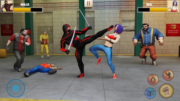 Ninja Superhero Fighting Games: Shadow Last Fight screenshot 1