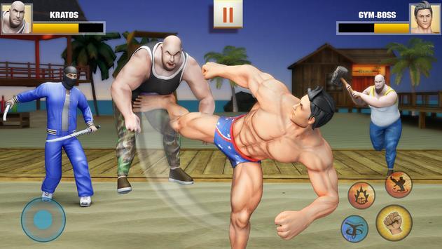 Ninja Superhero Fighting Games: Shadow Last Fight screenshot 2