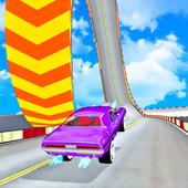 ikon Mega Ramp Stunt drive Tantangan Mobil Balap