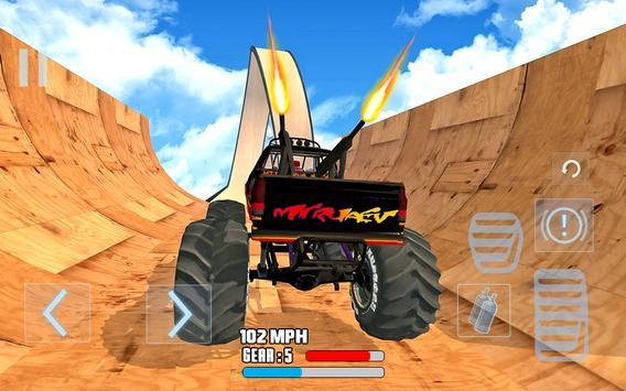 Mega Ramp Stunt drive Tantangan Mobil Balap screenshot 4
