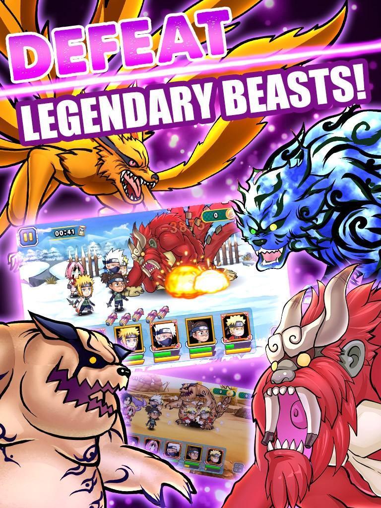 Ninja Rebirth - Monster Legend screenshot 1