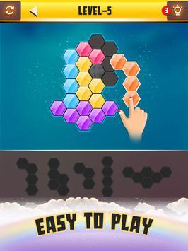 Hexa Puzzle ảnh chụp màn hình 5
