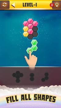 Hexa Puzzle ảnh chụp màn hình 2