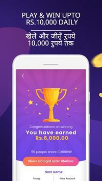Gaming App – GameShow Earn Real Money screenshot 2