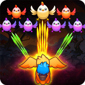 Poultry Shoot Blast: Free Space Shooter icon