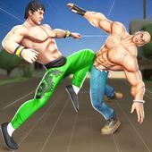 Удар Em Up Борьба Игры: кунг-фу каратэ игры иконка