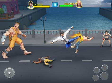 Удар Em Up Борьба Игры: кунг-фу каратэ игры скриншот 5