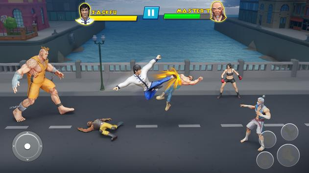 Удар Em Up Борьба Игры: кунг-фу каратэ игры скриншот 1