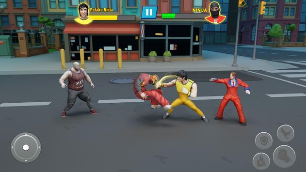 Удар Em Up Борьба Игры: кунг-фу каратэ игры скриншот 3
