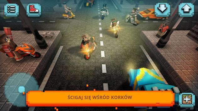 Jazda Motorem 3D: Wyścigi Motocyklowe i Budowanie screenshot 3