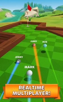 Golf Battle Cartaz