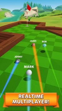 6 Schermata Golf Battle