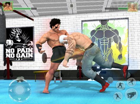 Bodybuilder Fighting Club 2019: Wrestling Games screenshot 10