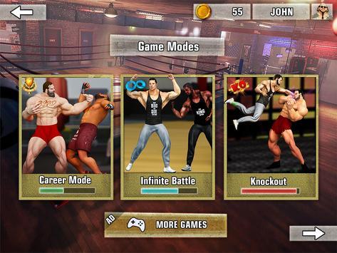 Bodybuilder Fighting Club 2019: Wrestling Games screenshot 11