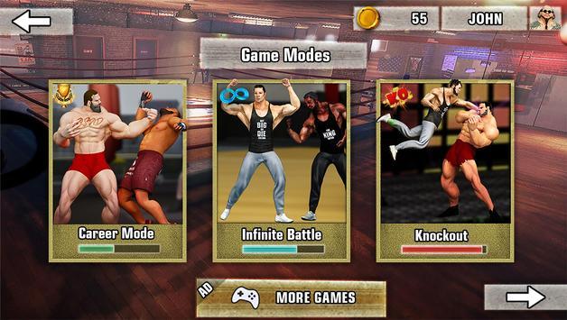 Bodybuilder Fighting Club 2019: Wrestling Games screenshot 3