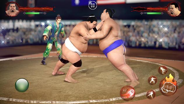 सूमो कुश्ती 2019: लाइव सुमोरी फाइटिंग गेम स्क्रीनशॉट 1