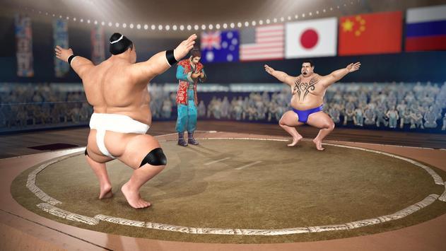सूमो कुश्ती 2019: लाइव सुमोरी फाइटिंग गेम स्क्रीनशॉट 2