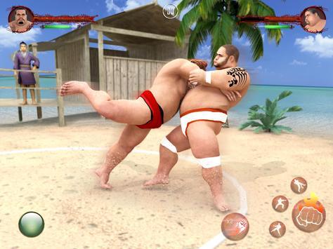 सूमो कुश्ती 2019: लाइव सुमोरी फाइटिंग गेम स्क्रीनशॉट 3