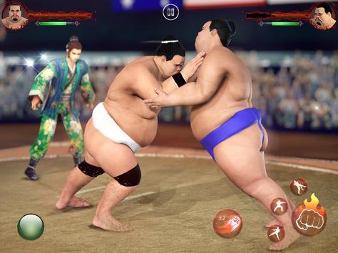 सूमो कुश्ती 2019: लाइव सुमोरी फाइटिंग गेम स्क्रीनशॉट 4