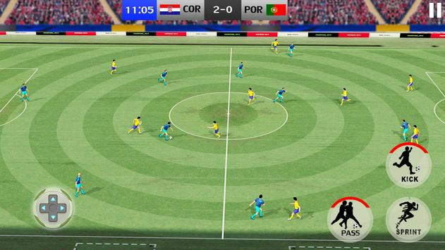 Soccer League Evolution 2021: Play Live Score Game screenshot 1