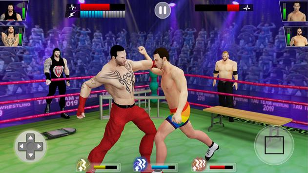 Tag Team Wrestling Game 2020: Cage Ring Fighting screenshot 5