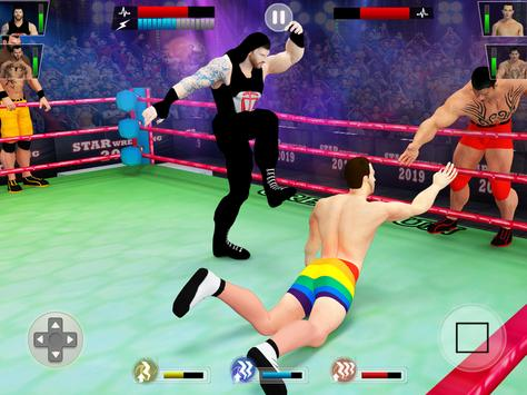 Tag Team Wrestling Game 2020: Cage Ring Fighting screenshot 8